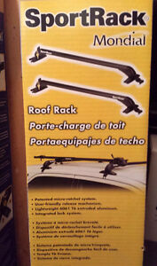 SportRack Mondial #13 barres rack de toit support roof neuf new