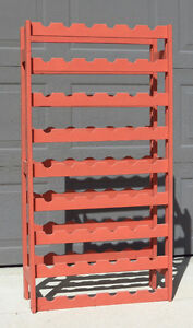 Wine Rack - Holds 54 bottles - Great for aging home made wine