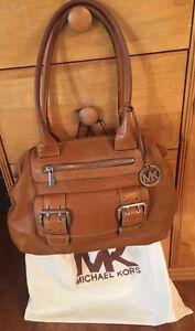 MICHAEL KORS authentique sac en cuir