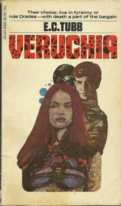 Veruchia (Dumarest of Terra #8) by E.C. Tubb PB 1st Ace 86180po