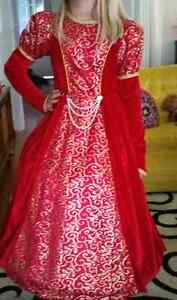 Red ballroom gown size 8/10 London Ontario image 1