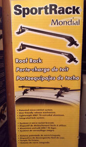 SportRack Mondial ref6 barres rack de toit support roof neuf new