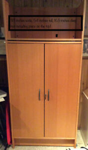 Office cabinet with lock (and 2 keys)