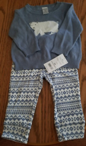 NWT - 2 Piece Outfit - 6M - Carter's