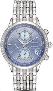 Citizen Women's World Chronograph A-T FC5000-51L Wrist Watches,