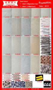 Whole sale Price! 12*24 24*24 Tile and 300*300 Mosaic!$1.8 star!