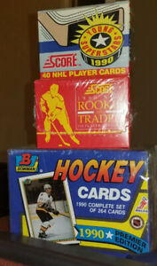 NHL 90s hockey cards