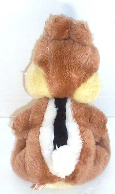 CHIP From Chip N Dale CHIPMUNK Stuffed Animal Toy Made In Korea Vintage Disney - $9.89