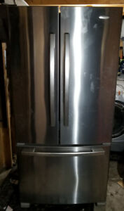 New 2017 Stainless Whirlpool Fridge Gold Edition
