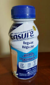 Ensure meal replacement drinks available