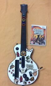 GUITAR HERO III Wii Legend of Rock *