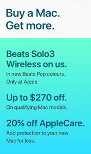 Apple back to school beats wanted