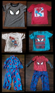 Spider-Man, Size 4,  Toddler Clothing Lot.