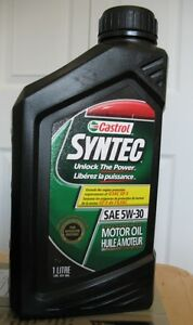Castrol Syntec 5W-30 Trade for 0W-20 or Buy 10$ a Litre Cambridge Kitchener Area image 1