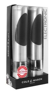 Electric Salt and Pepper Mill Set