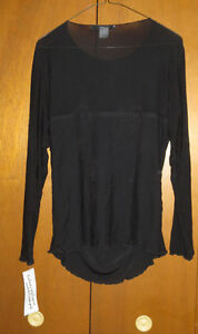 Ladies SIZE 12 Nygard black formal evening top-new never used London Ontario image 2