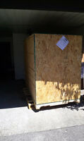 Free Crate complete panels, used for moving