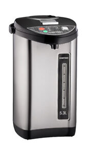 BNIB Chefman Stainless Steel 5.3L Electric Hot water dispenser
