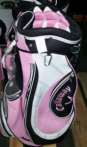 Callaway Golf Bag - Pink, Black, White