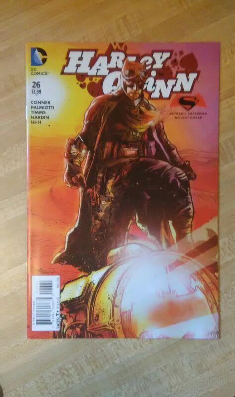Harley Quinn #26 1st App of Red Tool Batman vs Superman Variant NM