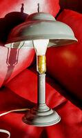 LAMPE DE TABLE ANCIENNE EN MÉTAL C1940