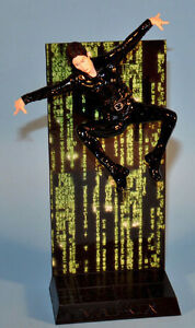 Mint! Loose The MATRIX Trinity Action Figure with stand Toy 2000