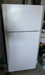 "30"" White Kenmore Fridge"