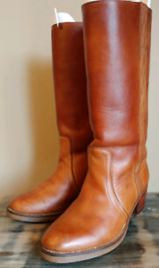 Womens Size 7 All Leather Western Cowgirl Boot