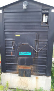 Empyre Outdoor wood furnace / boiler