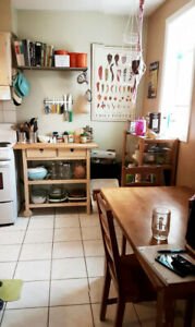 July 1 - Bedroom in spacious 2 bed apartment!