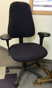 "$100 ""OBO"" Office Type Chairs & Coat rack"