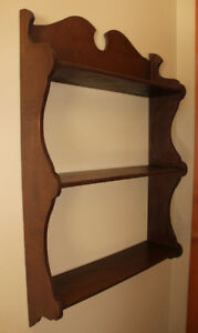 "Wood Wall Shelf - 32.5"" Tall x 20"" Wide $25.00"