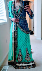 Indian party dress lengha