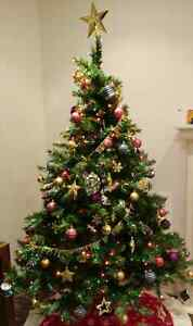Chritmas tree & decorations