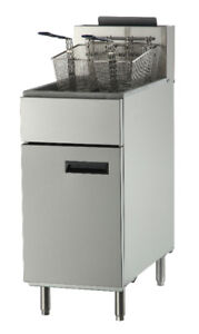 Commercial Restaurant Fryer, Heavy duty, Gas, Electric