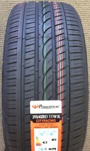 4 TIRES 275/40R20 315/35R20 POWERTRAC BMW X5 X6 HELLCAT CAMARO
