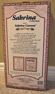 Limited Edition 1998 Sabrina Collection Porcelain Doll St. John's Newfoundland image 3