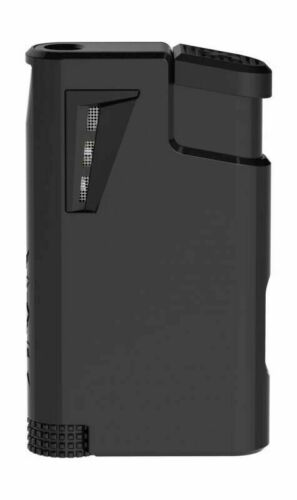 Xikar XK1 Single Jet Flame Cigar Lighter Black - 555BK - New