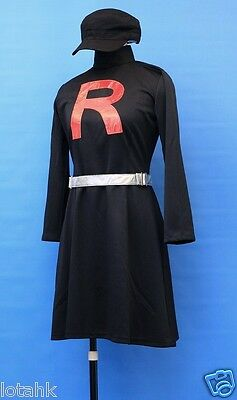 Pokemon Team Rocket Female  Cosplay Costume Custom Made  < Lotahk >](Team Rocket Cosplay)