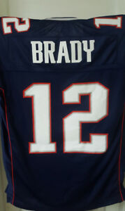 Tom Brady NFL jersey for sale, size Large