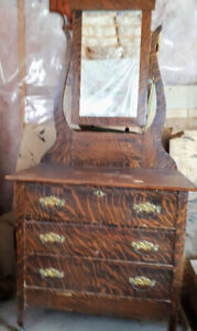 Antique commode and matching dresser