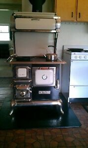 Heartland wood cook stove, oven, warmer, hot water