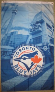 Toronto Blue Jays Flags & Pull String Backpack Bags