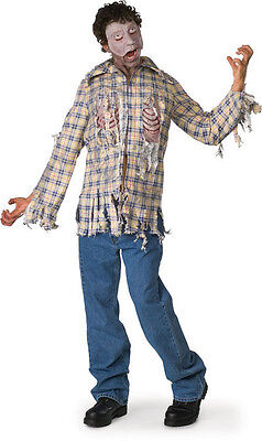Fly Boy Zombie Dawn of the Dead Movie Fancy Dress Up Halloween Adult Costume - Dawn Of The Dead Halloween Costume