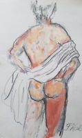 Male Art Model available for private sketching events