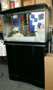 For sale 20 gallon fish tank with stand $80 OBO