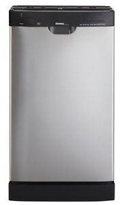 "dishwasher 18"" stainles steel danby with warranty-$199.99"