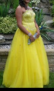 Robe de bal style princesse