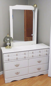 DRESSER with MIRROR - moving, must sell
