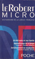 Le Robert Micro Dictionairre - French Dictionary
